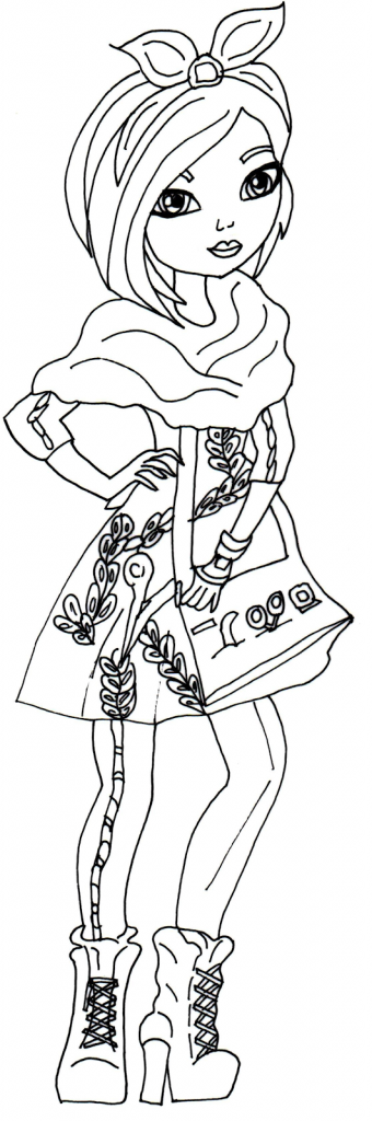 Ever After High Coloring Page Free