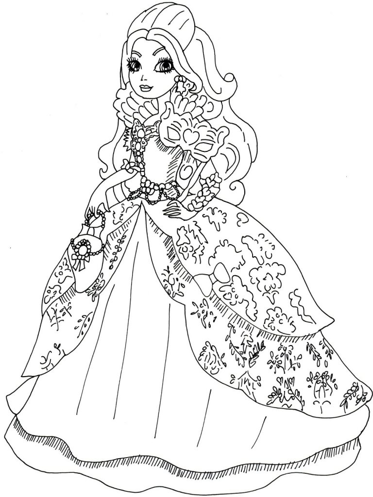 Ever After High Coloring Pages Printable