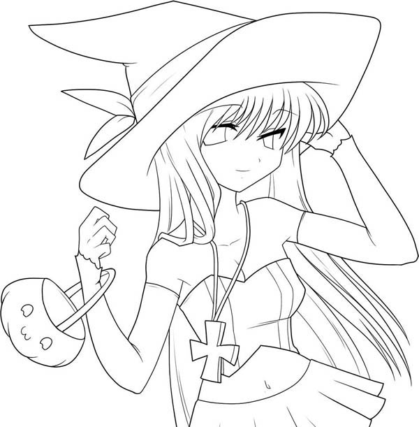 Free Anime Coloring Pages