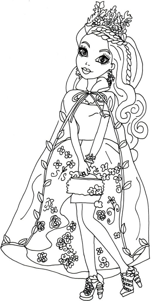 Free Ever After High Coloring Page Printables