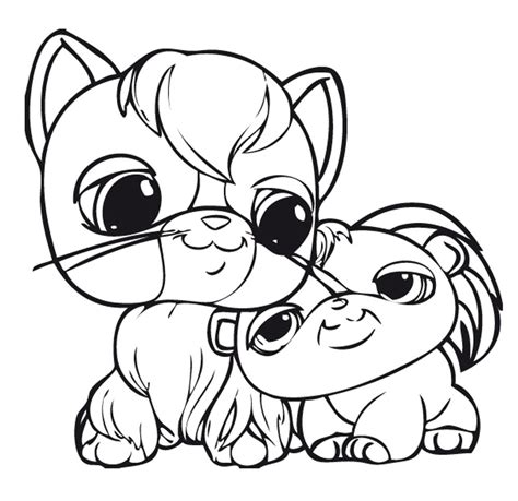 Littlest Pet Shop Friends Coloring Pages