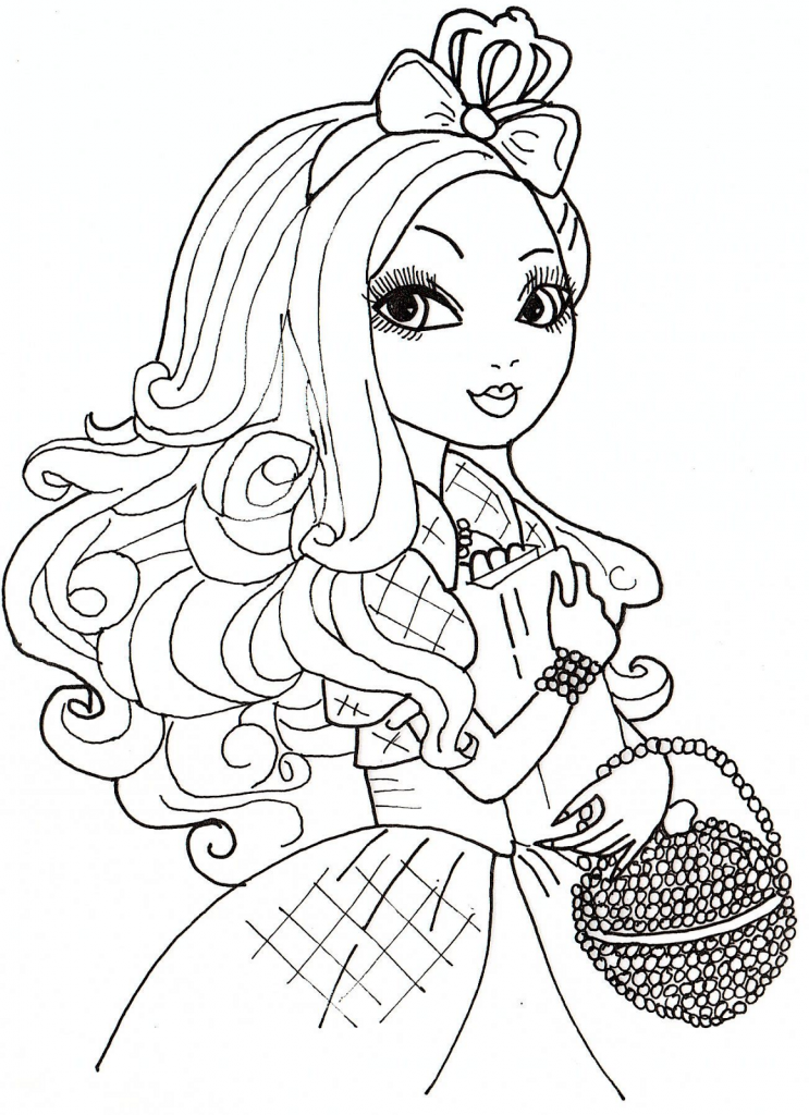 Print Ever After High Coloring Pages Free