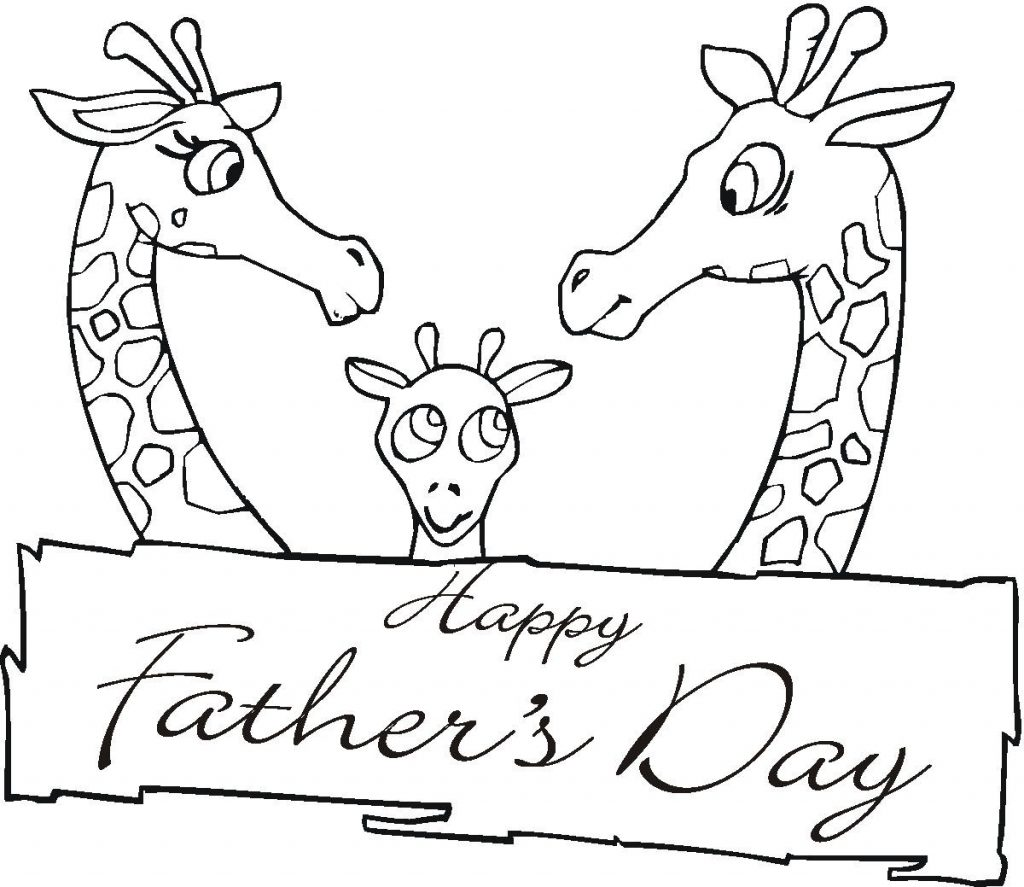 Print Free Fathers Day Coloring Pages