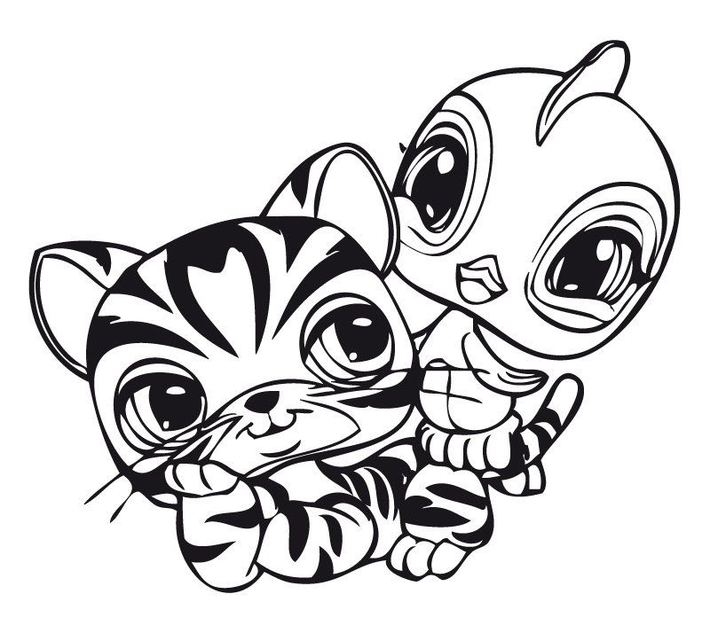 Print Littlest Pet Shop Coloring Pages
