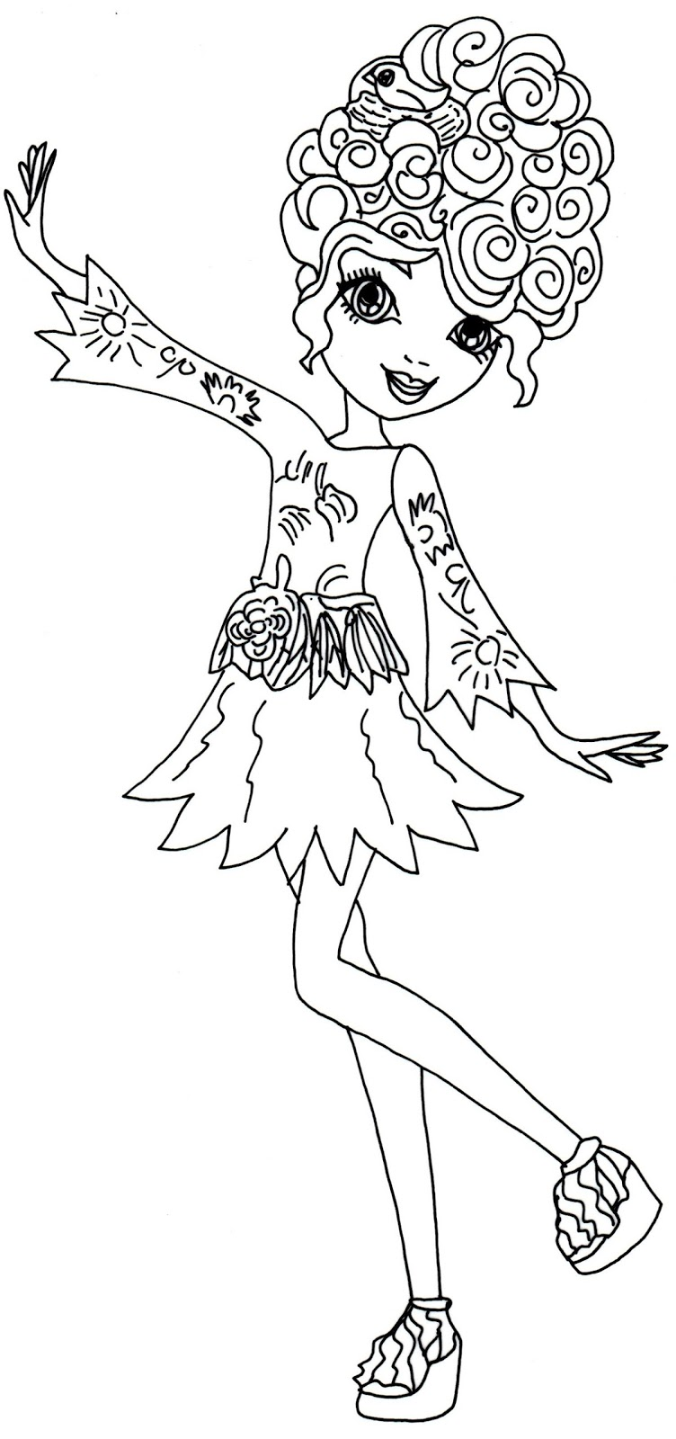 Liv And Maddie Printable Coloring Pages