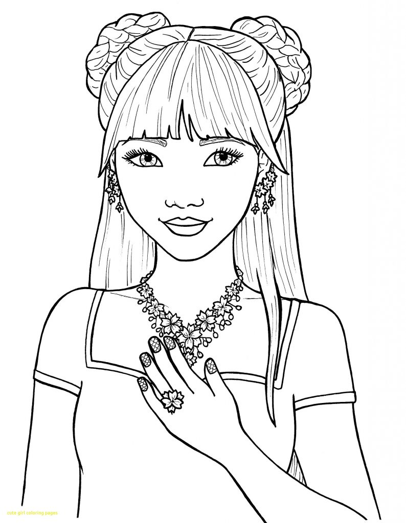 Fashion Coloring Pages for Girls.