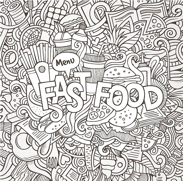 Free Doodle Coloring Pages