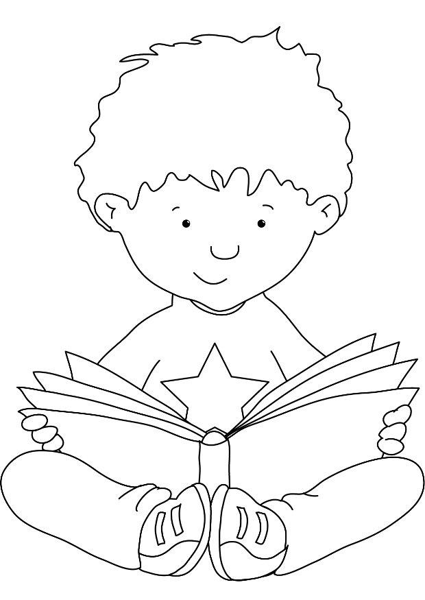 Print Books Coloring Pages