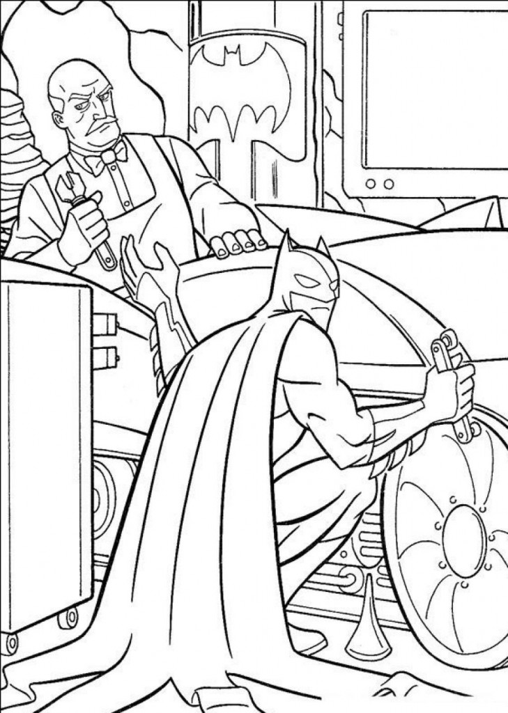 Coloring Pages For Batman