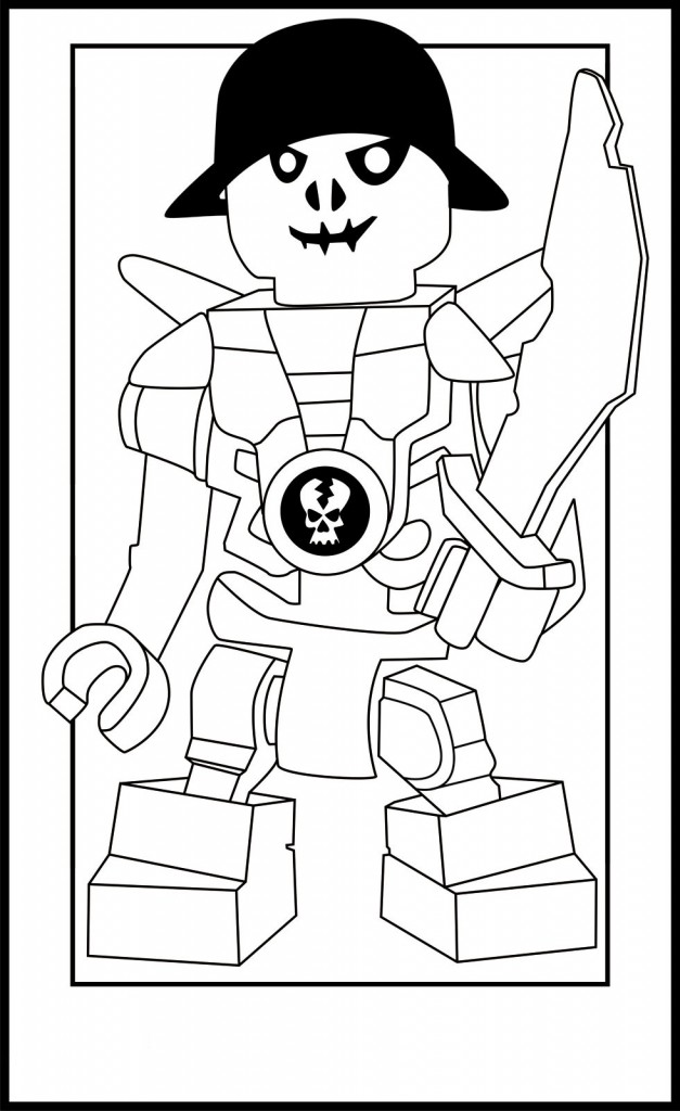 Coloring Pages of Lego Ninjago
