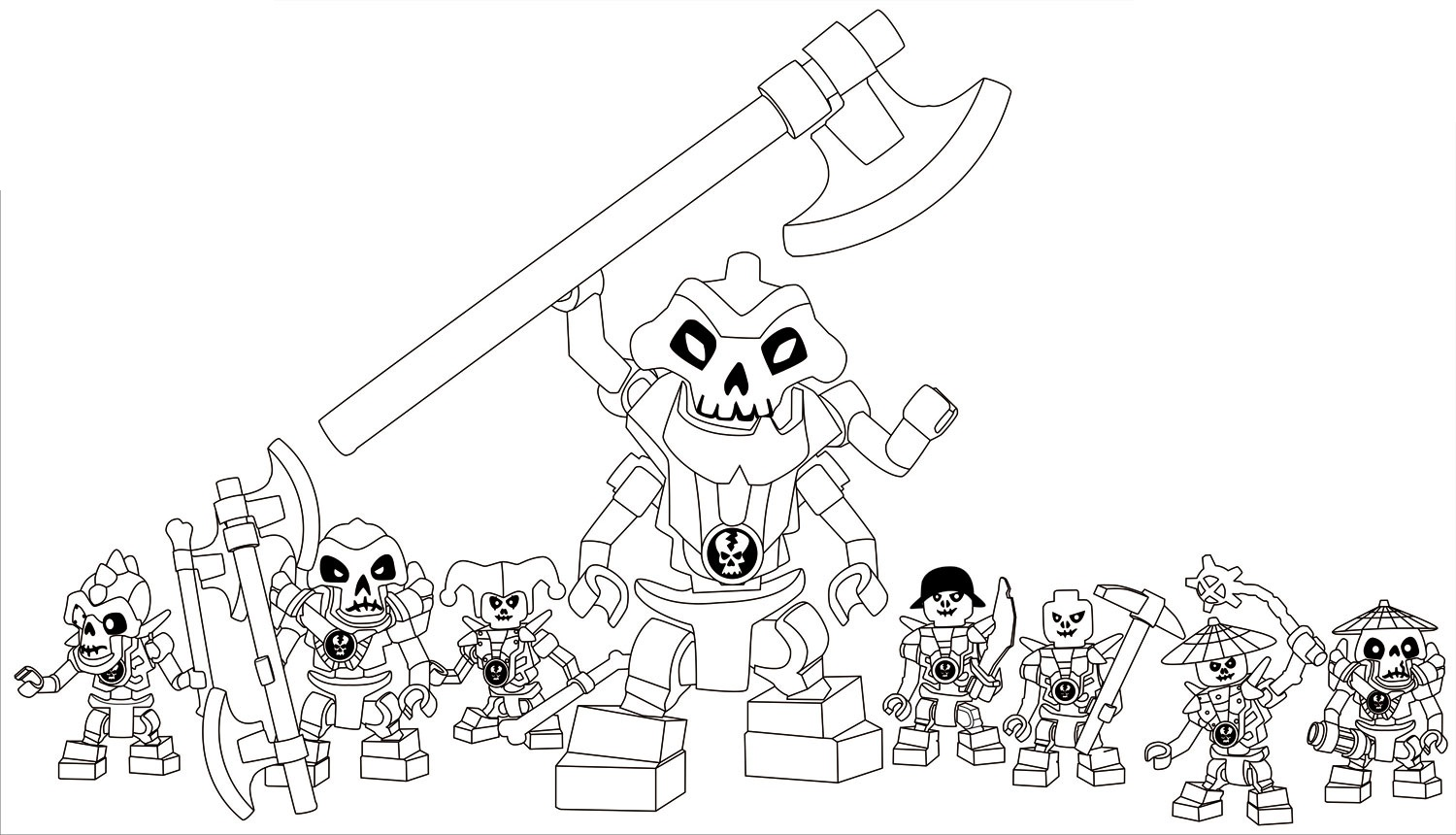 Free Lego Ninjago Coloring Pages