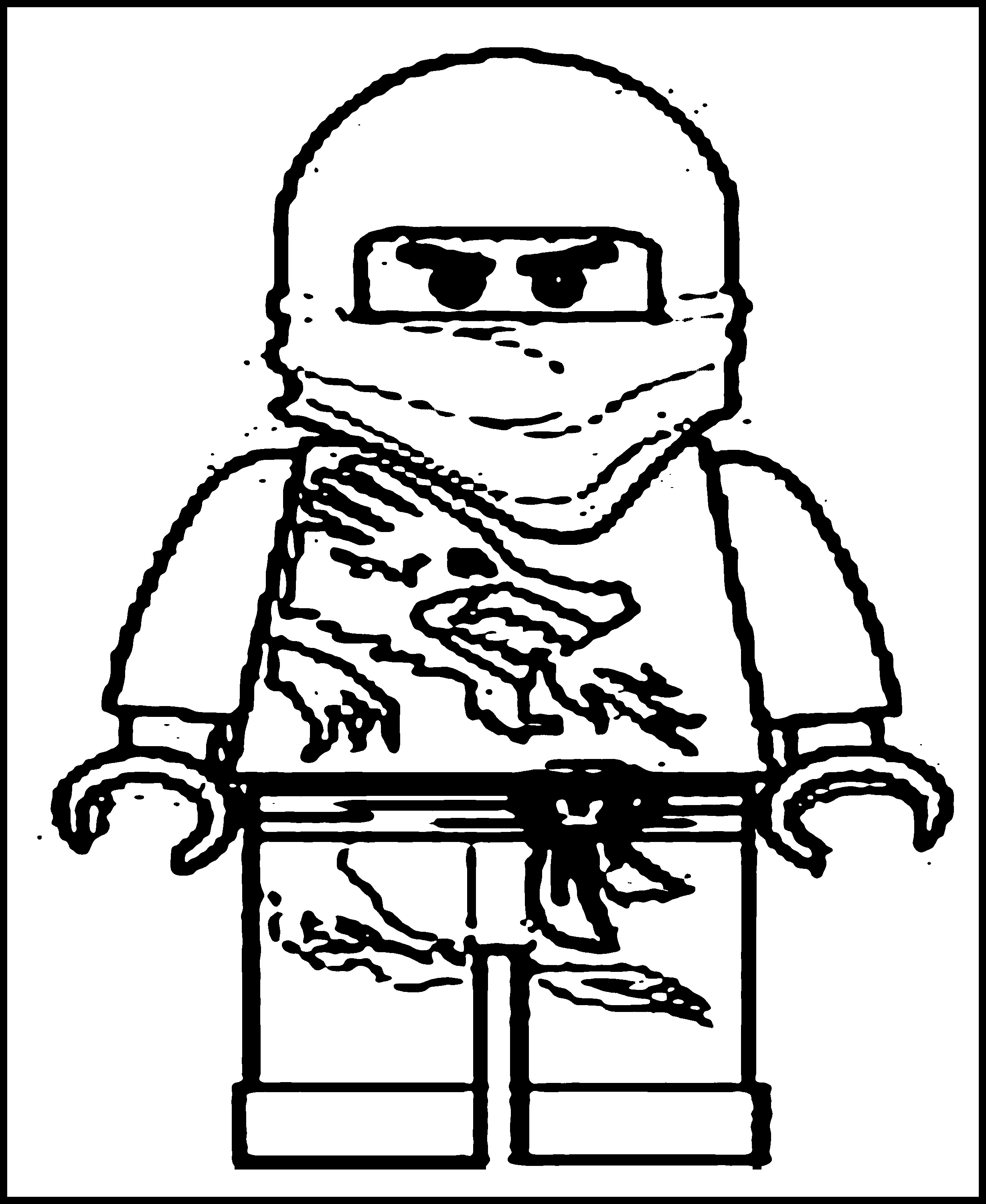 Lego Ninjago Snake Coloring Pages