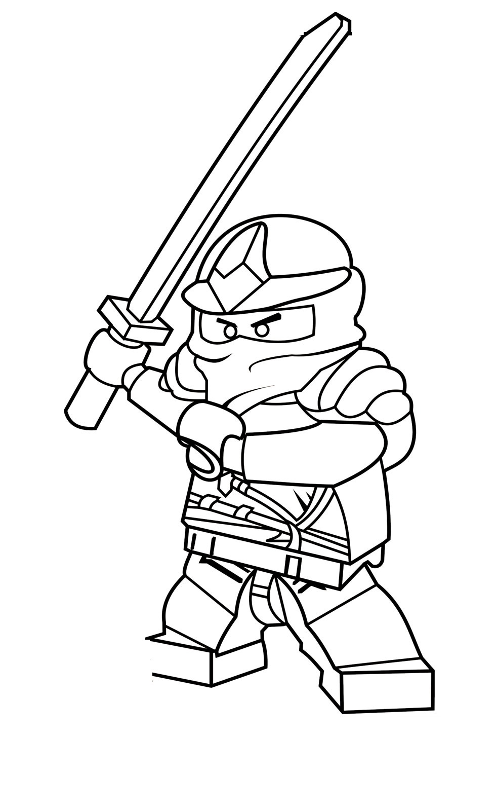 Lego Ninjago Ausmalbilder Cole : Free Printable Ninjago Coloring Pages For Kids