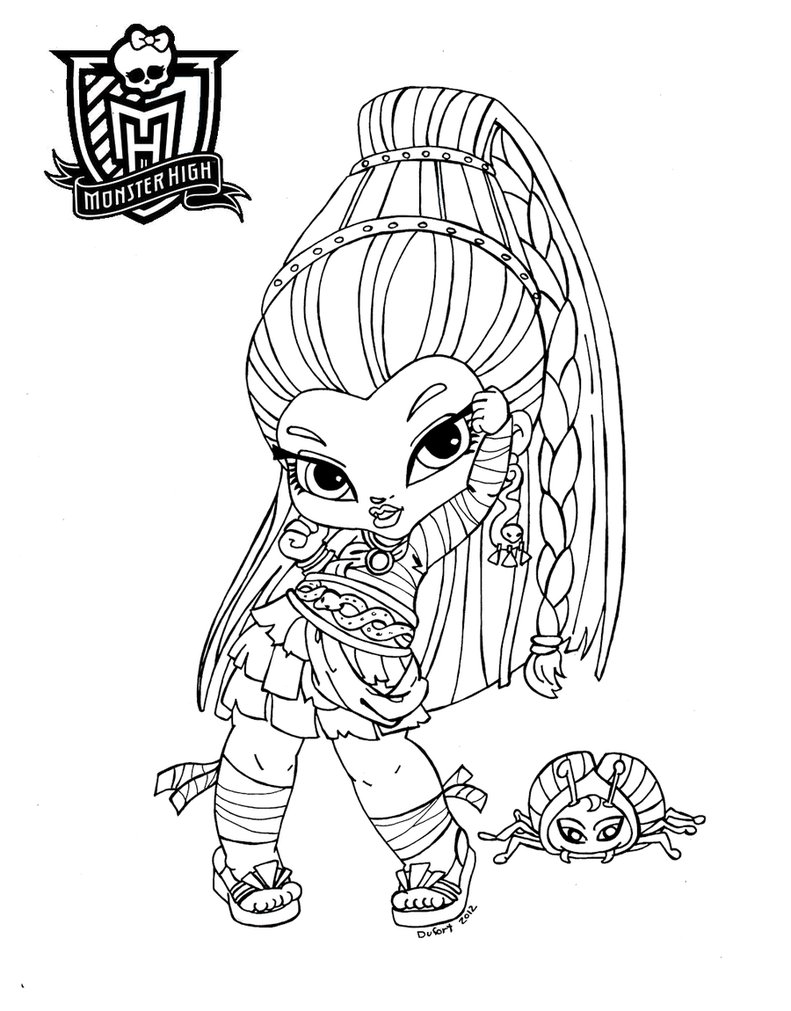 Monster High Ausmalbilder : Free Printable Monster High Coloring Pages For Kids