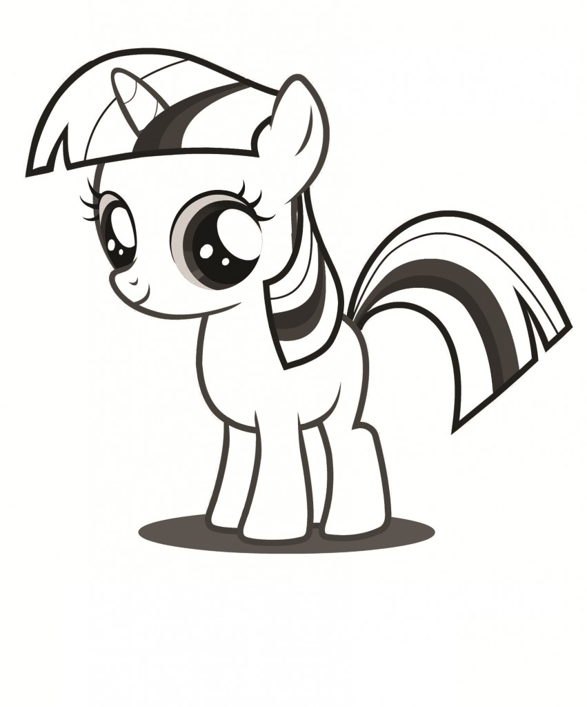 My Little Pony Free Coloring Pages