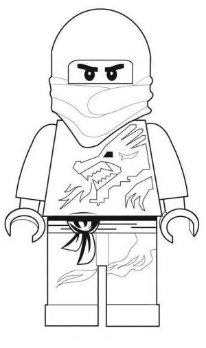 Ninjago Cole Coloring Pages