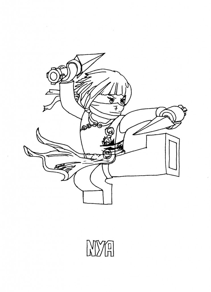 Ninjago Coloring Pages For Kids Free