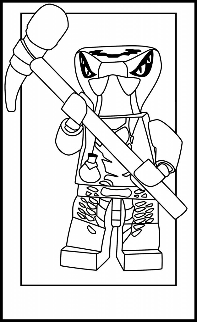 Ninjago Free Coloring Pages