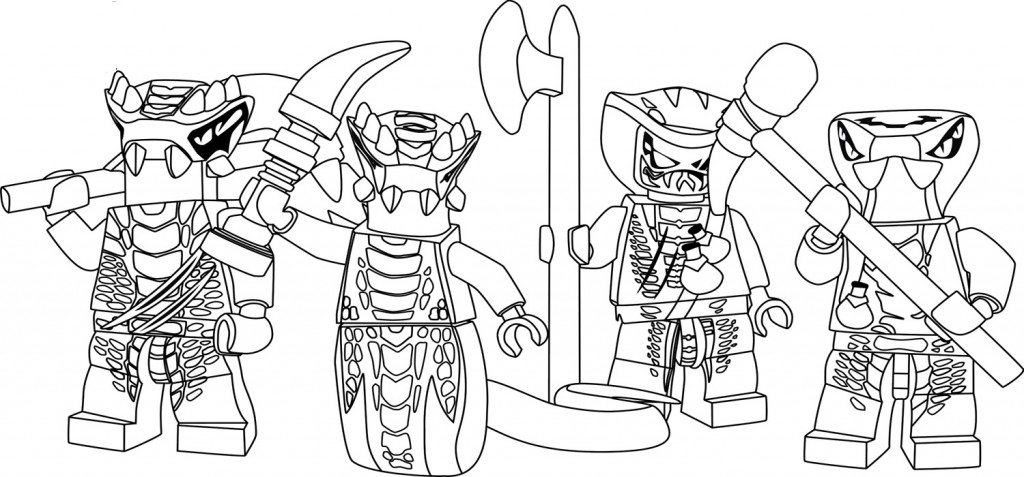 Ninjago Printable Coloring Pages