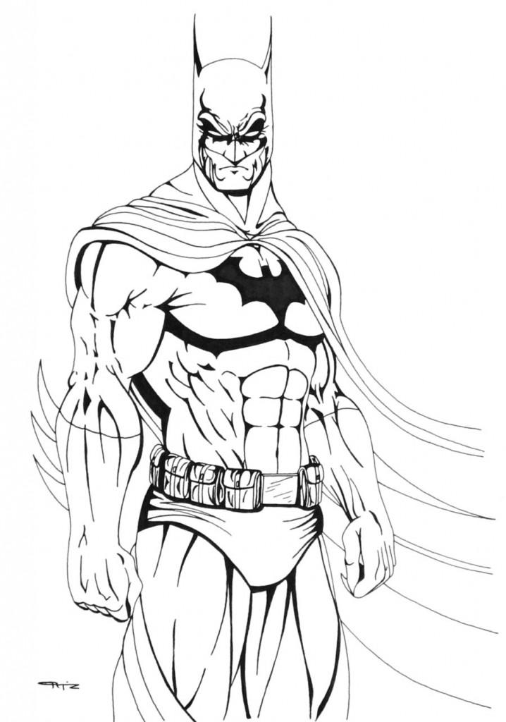 free coloring pages batman - photo#21