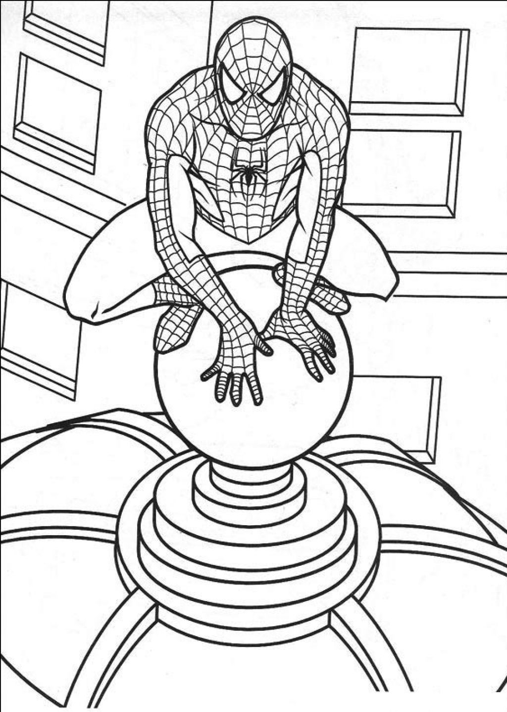 Spiderman Coloring Pages To Print