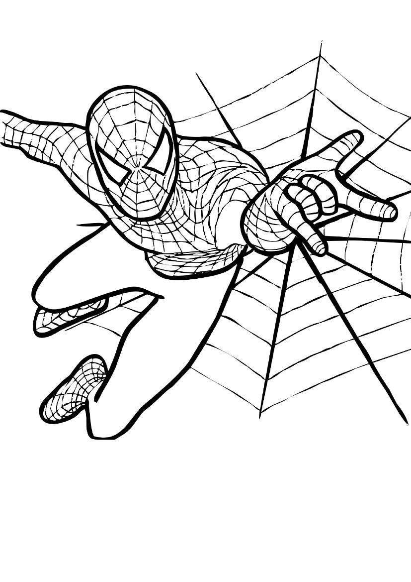 kids coloring pages man - photo#40