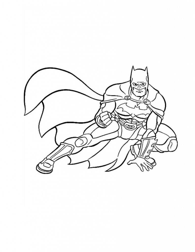The Batman Coloring Pages