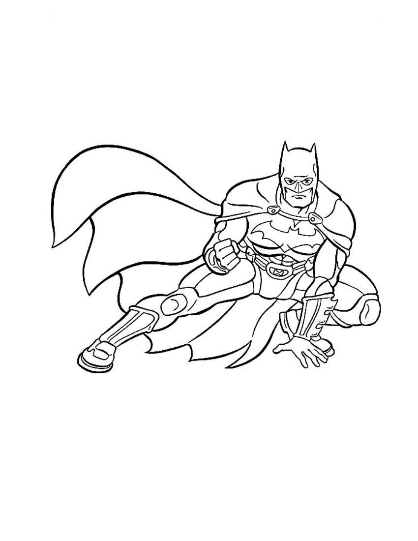 Coloring Pages Of The Batman