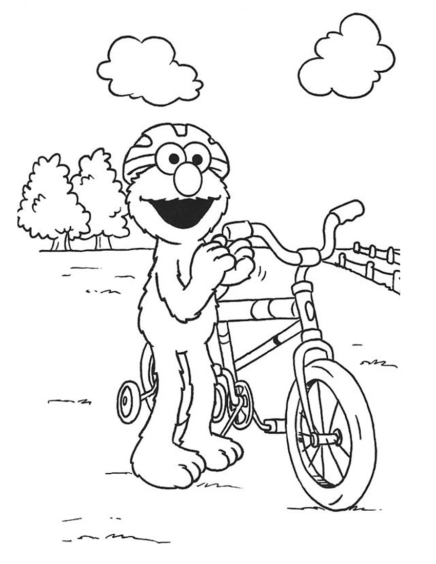 - Free Printable Elmo Coloring Pages For Kids