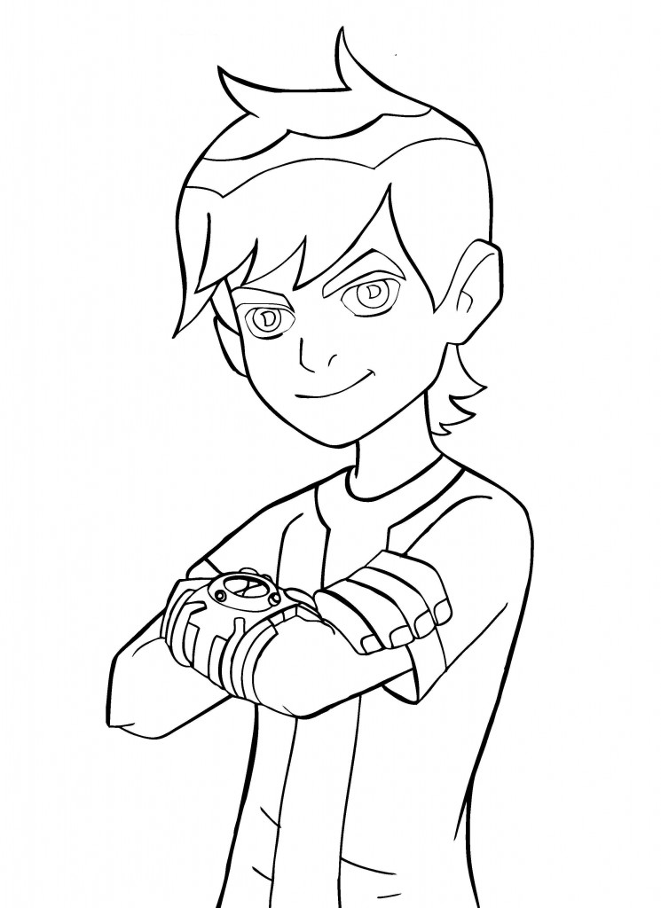 Ben 10 Coloring Pages Images