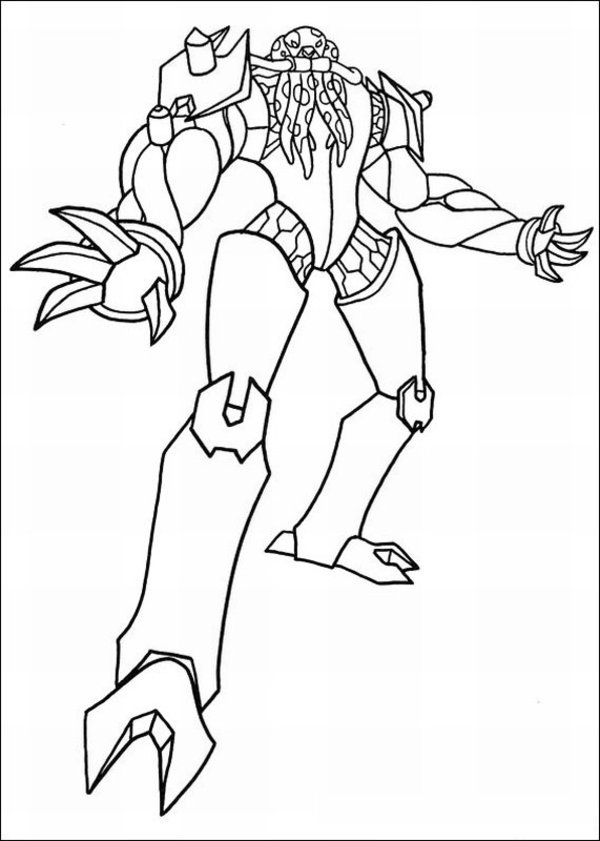 Ben 10 Ultimate Alien Printable Coloring Pages