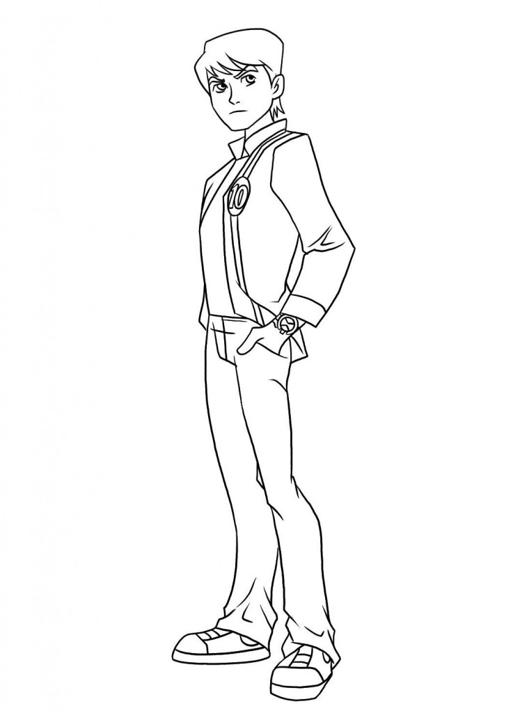 ben coloring pages - photo#42