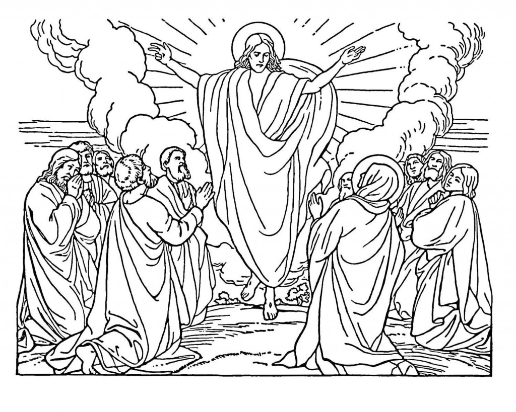 Bible Coloring Pages For Children