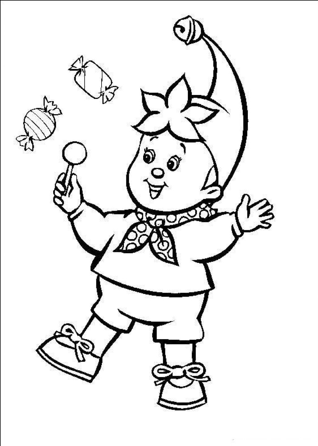 Free Printable Circus Coloring Pages For Kids