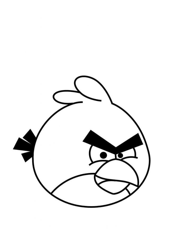 Free Printable Angry Bird Coloring