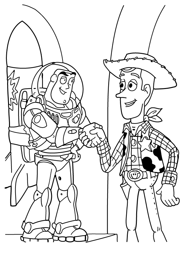 Coloring Pages For Toy Story on toy story alien coloring pages
