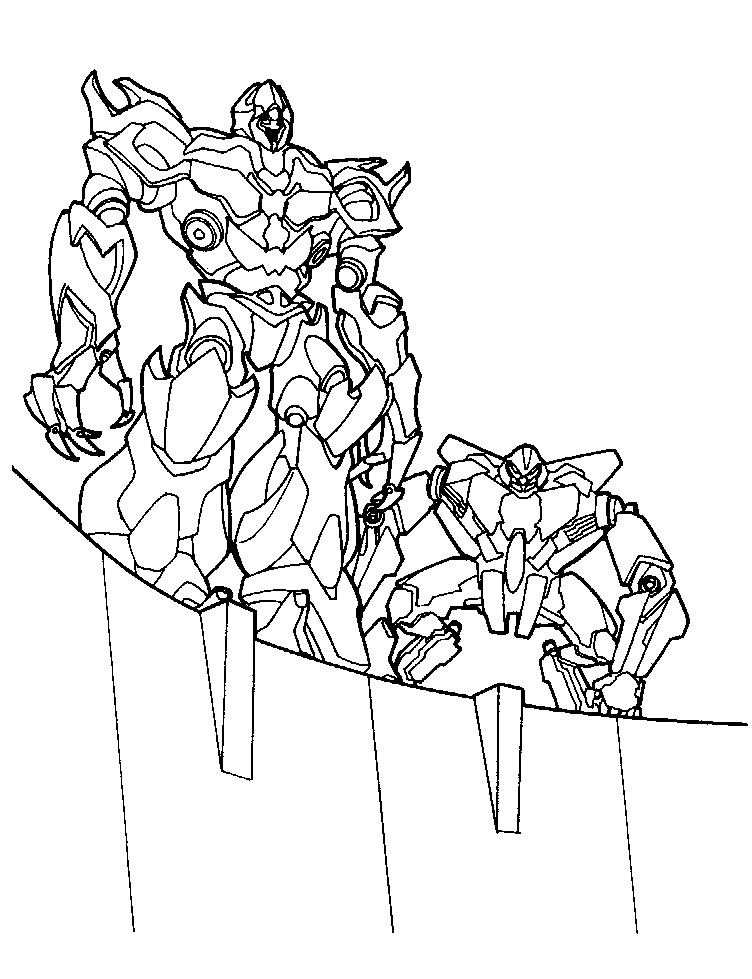 Free Printable Transformers Coloring