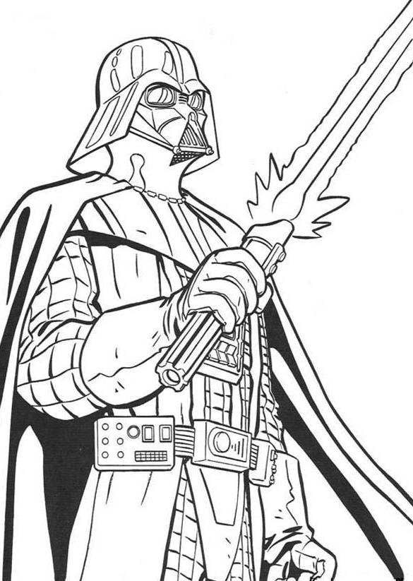 Darth Vader - Star Wars Coloring Pages