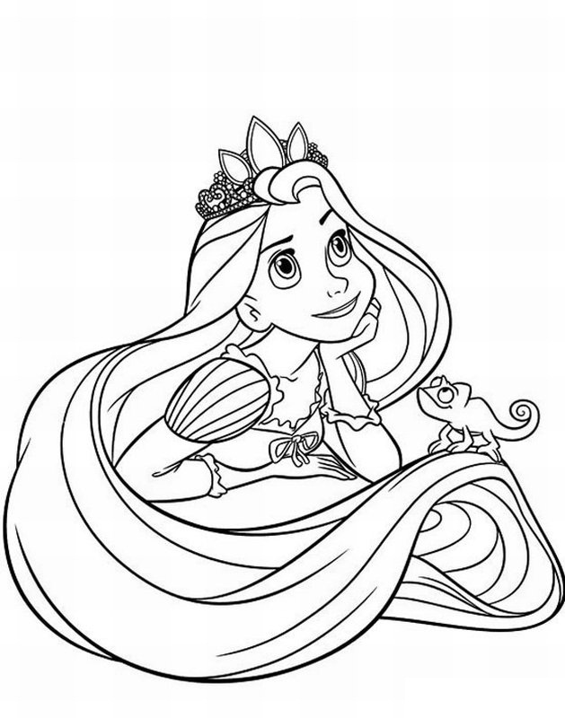 kids disney princess coloring pages - photo#9