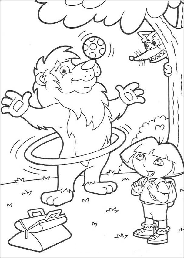 Swiper Dora the Explorer coloring | Dora coloring, Coloring pages, Cool coloring  pages | 850x607