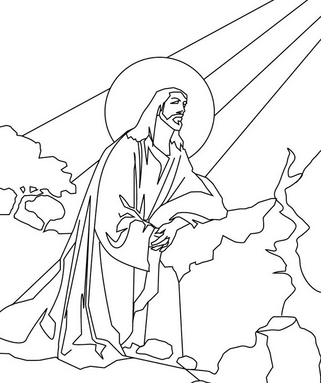 photograph regarding Free Printable Jesus Coloring Pages identified as Free of charge Printable Jesus Coloring Webpages For Children