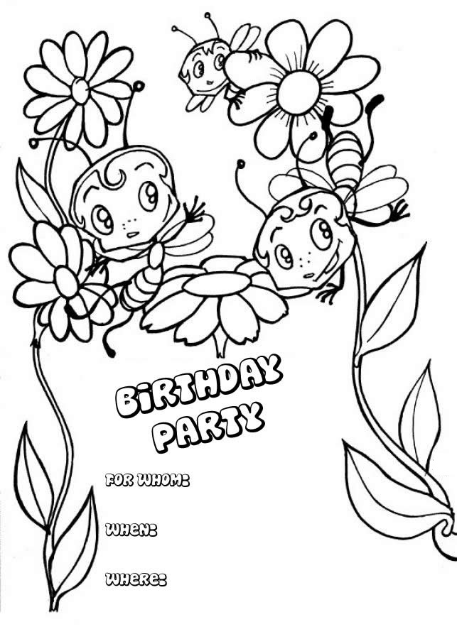 happy children coloring pages - photo#23