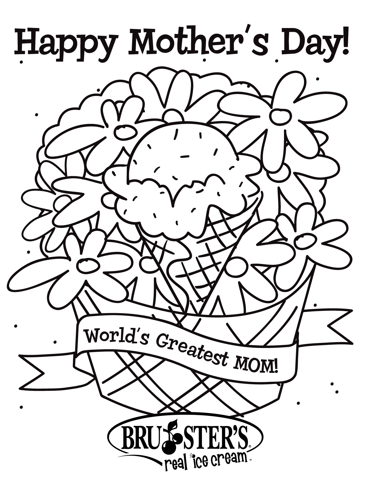 coloring pages mom and kids - photo#34