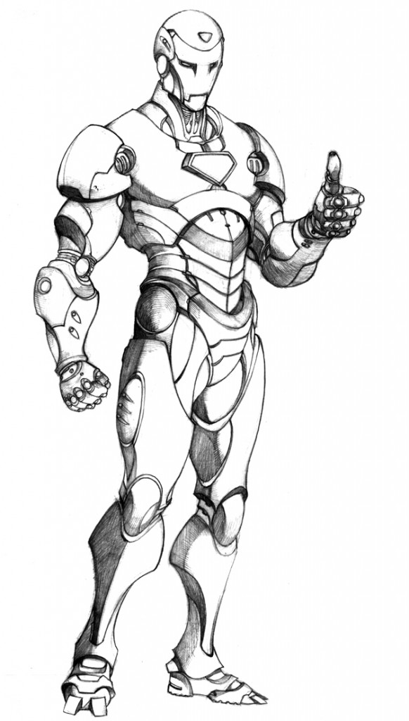 iron man coloring pages free | Free Printable Iron Man Coloring Pages For Kids - Best ...