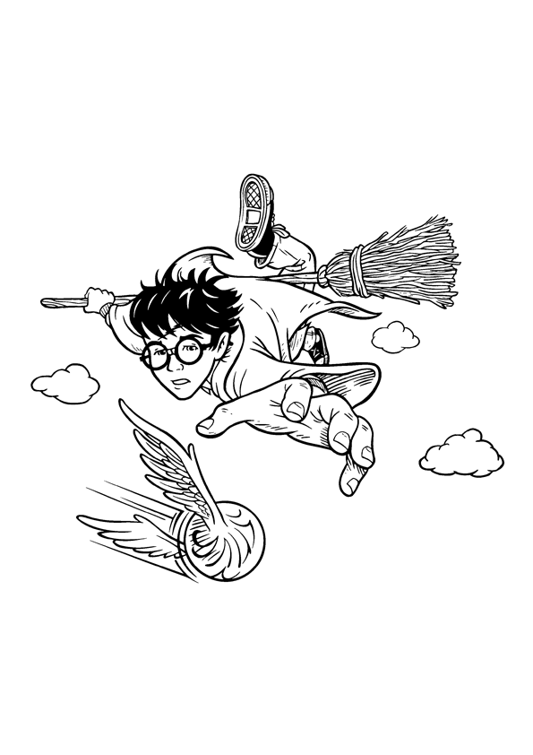 - Free Printable Harry Potter Coloring Pages For Kids