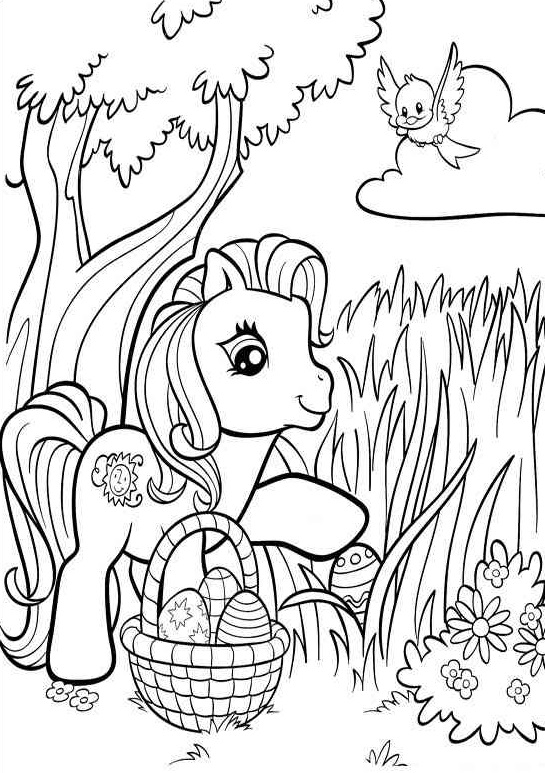 MLP Coloring Pages to Print