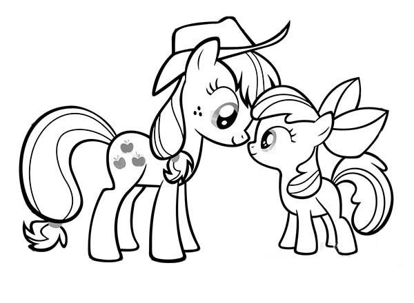 Mlp coloring pages