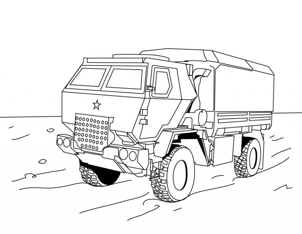 Monster Truck Coloring Pages Pictures