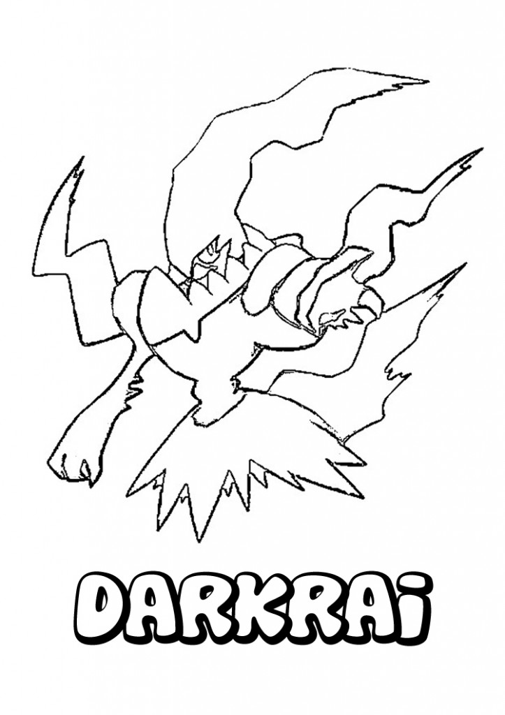 Pokemon Black and White Color Pages