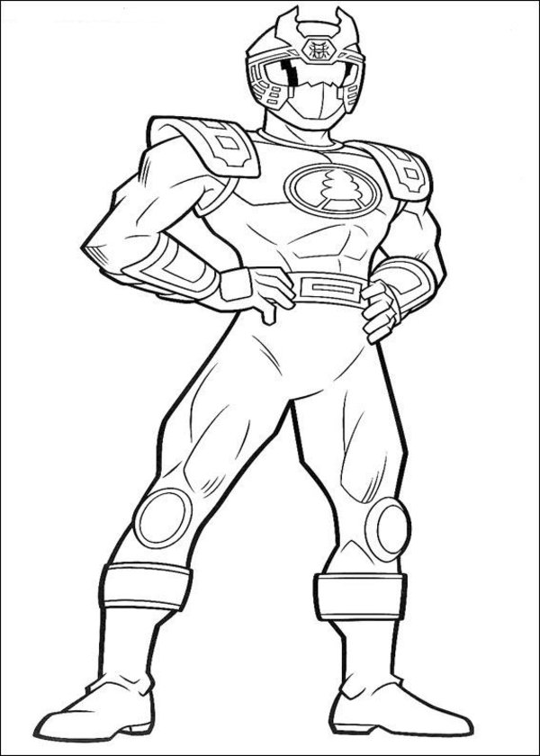 Power rangers mystic force coloring pages